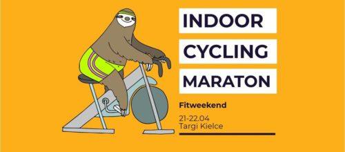 Zapraszamy na Indoor Cycling Maraton!